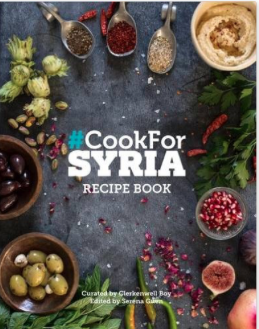 Cooking for Syria & knit Aid